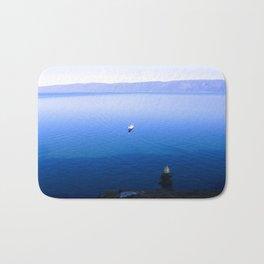 Lonely Ship Bath Mat