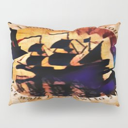 Kaz and Inej - crawl Pillow Sham