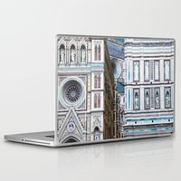 florence Laptop & iPad Skins featuring Florence  by Chernyshova Daryna
