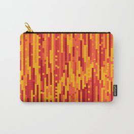 Sunny Glitch - Digital Glitch Art Carry-All Pouch