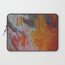 Abstract Paint Swipes Laptop Sleeve