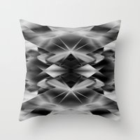kaleidoscope Throw Pillows featuring Kaleidoscope by Assiyam
