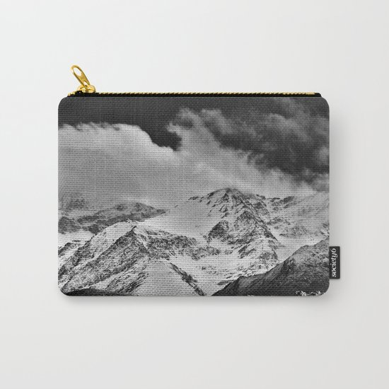 """Wild mountains"". Wilderness. Into the storm Carry-All Pouch"