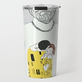 Gustav Klimt portrait Travel Mug