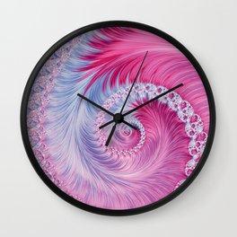 Crystal Spiral Abstract Wall Clock