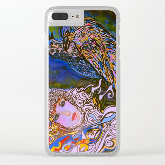 RAVENS Clear iPhone Case