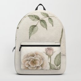 Old Roses Backpack