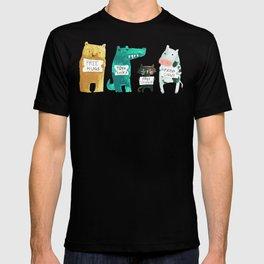 Animal idioms - its a free world T-shirt