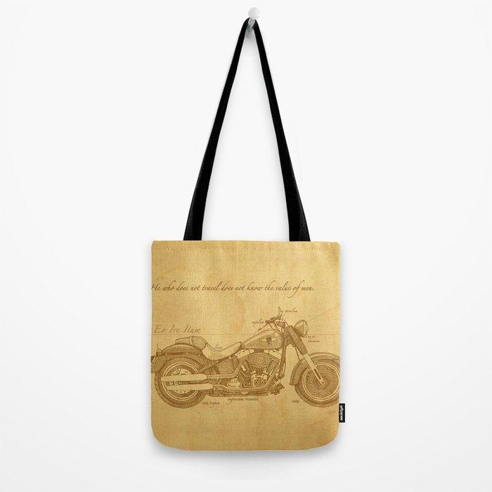 Travel Plan Tote Bag