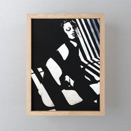 Linework Framed Mini Art Print