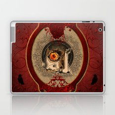 Creepy red eye Laptop & iPad Skin