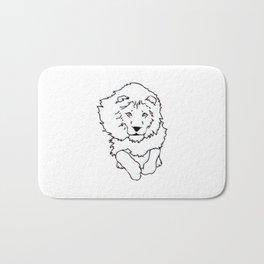 3D Lion Bath Mat
