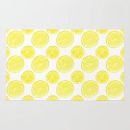 Hello Sunshine Lemons Rug