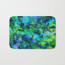 Sand Painting Bath Mat
