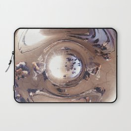 Reflecting, Under Cloud Gate, Chicago Laptop Sleeve