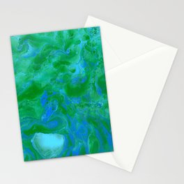 Paint Pouring 34 Stationery Cards