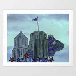 King Kong! Art Print
