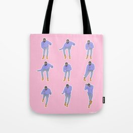 Hotline bling (pink) Tote Bag