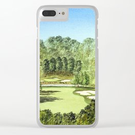 Glen Abbey Golf Course Canada Clear iPhone Case