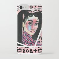 fka twigs iPhone & iPod Cases featuring FKA TWIGS by Isabelle Ewing