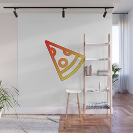Pizza slice | italian food gift Wall Mural
