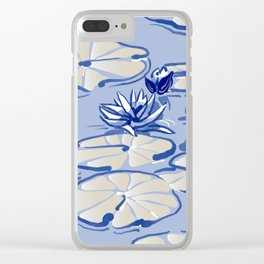 Monets Waterlilies, Giverny, France Clear iPhone Case