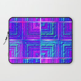 Checkered ultraviolet Laptop Sleeve