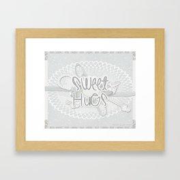 Sweet Hugs 4 Framed Art Print