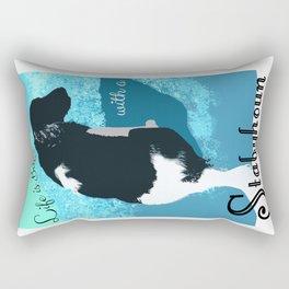 Life is Better With a Stabyhoun Rectangular Pillow