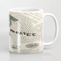 manatee Mugs featuring Manatee by Cassidy Tebeau