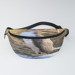 CORMORANT JUVENILE - FACING LEFT Fanny Pack
