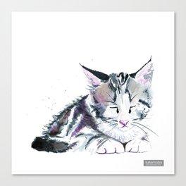Ink Kitten Canvas Print