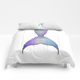 mermaid tail Comforters