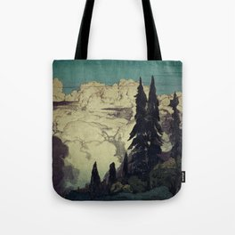 The Pending Storm at Hike Tote Bag