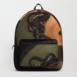 Medusa Michelangelo Merisi da Caravaggio Backpack