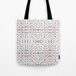 Interrupted Rainbow - a subtle rainbow of colors Tote Bag