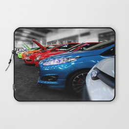 Rainbow of Cars Laptop Sleeve