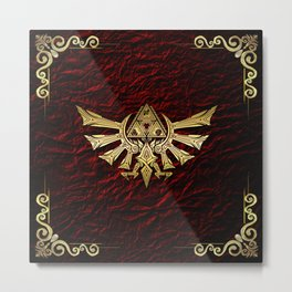 The Legend Of Zelda Metal Print
