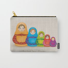 Matryoshka Dolls Carry-All Pouch