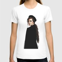 emma watson T-shirts featuring Emma Watson by Cécile Pellerin