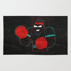 Boxing Gloves Rug