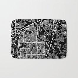 plano map texas Bath Mat