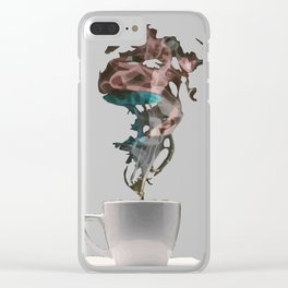A cup of ? Clear iPhone Case