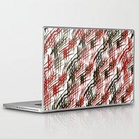 darren criss Laptop & iPad Skins featuring criss cross by Chelhsea Jefferson