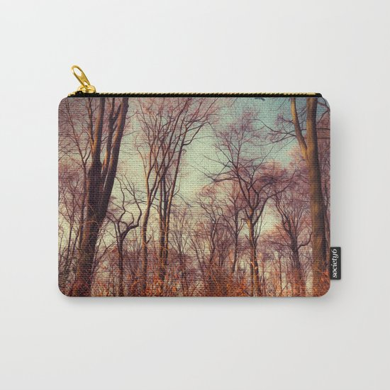 Dreamy Soft Trees Carry-All Pouch