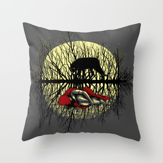 Haunting Dreams Throw Pillow