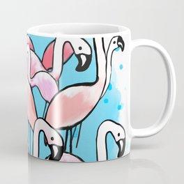 Flamingo City Coffee Mug
