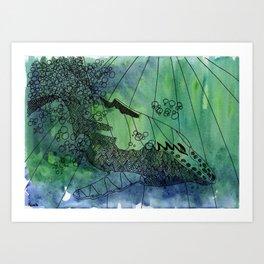 Strombo Art Print
