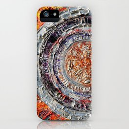 """""""The temple of the dragon"""" iPhone Case"""