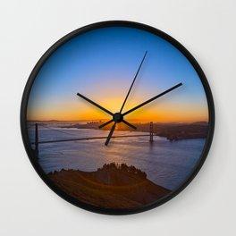 San Francisco Sunrise Wall Clock